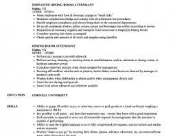 dining room attendant job description resume templates design anddeas server dining room supervisor job