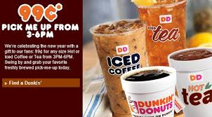 dunkin donuts jpg 587 325 fast food promo caign
