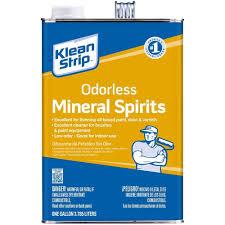 klean strip 1 gal odorless mineral spirits gksp94006p the home