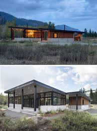 Sloping Lot 16 Examples Of Modern Houses With A Sloped Roof Contemporist
