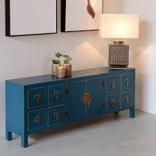 dos de canape dos de canapé bleu meuble chinois pekin univers des petits meubles