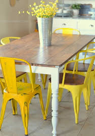 Mesmerizing Yellow Kitchen Table And Chairs Rustic Tables Kitchens