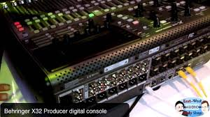 Studio Mixing Desks by Winter Namm 2013 Behringer X32 Producer Digital Mixing Console