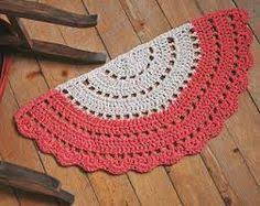 Crochet Doormat Doormat Half Circle Crochet Jute Door Rug Kitchen By Stefkowo