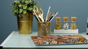 Diy Desk Accessories by Diy Gold Desk Accessories Feed Your Monsters