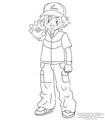 pokemon ash coloring images pokemon images pokemon coloring