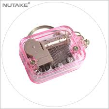 Music Box Keychain List Manufacturers Of Keychain With Pink Box Buy Keychain With