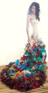 multi color wedding dress multi coloured wedding dress weddings weddings