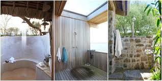 9 best outdoor shower ideas design inspiration pictures of