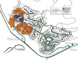 Durango Colorado Map by Twin Buttes Subdivision Plat Buy Durango