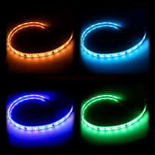 colored led light strips msi phanteks rgb led strip 400mm chassis accessories