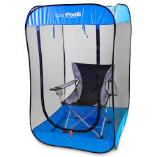 the bugpod undercover insect pop up screen tent helps protect