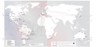 Oneworld Route Map by Destinations