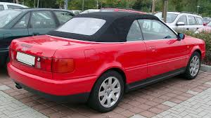 convertible audi red file audi b4 cabriolet rear 20071002 jpg wikimedia commons