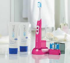 blue light whitening toothbrush qvc go smile sonic blue 5 piece teeth whitening tvshoppingqueens