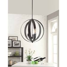 cassidy 3 light orb chandelier overstock com shopping the best a trendy combination of contemporary design with retro inspiration this beautiful cassidy chandelier features a black finished metal orb housing three