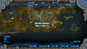 Map Of Hyrule Zelda U2013 Breath Of The Wild Rubine Farmen U2013 Die Schnellste Methode