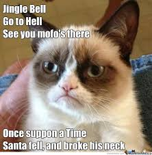 Grumpy Cat Christmas Memes - grumpy cat christmas song by drakesnight meme center