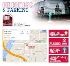 Map Of Grand Rapids Michigan by Grand Rapids Griffins Directions U0026 Parking
