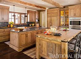 Traditional Kitchens Designs - traditional kitchen rustic normabudden com