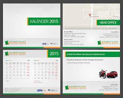 desain kalender meja keren gallery desain kalender 2015 untuk bank bpr banda raya