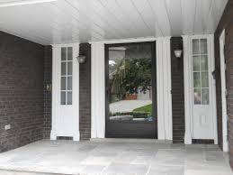 full glass entry door entry door with sidelights of modern full glass entry door with