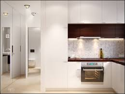Small White Kitchens Designs by White And Brown Kitchen Cabinets Outofhome