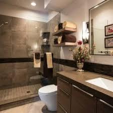toronto interior design group chocolate brown modern bathroom