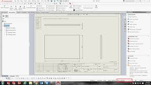 how to save solidworks drawing as a 1 1 scale output seacad