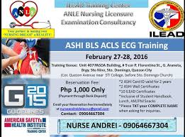 it u0027s rndrei bls acls ecg training quezon city phlebotomy training
