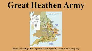 Wessex England Map by Great Heathen Army Youtube