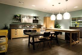 Stackable Chairs For Dining Area Kitchen Fancy Look Of Kitchen And Dining Room Open Floor Plan