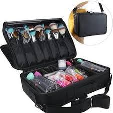 traveling makeup artist pro large makeup bag cosmetic storage handle organizer artist