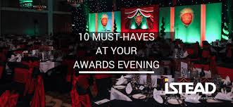 10 Must Haves For Your by 10 Must Haves At Your Awards Evening Istead