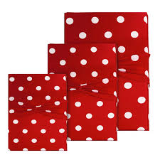 christmas gift wrap white polka dot christmas gift wrap 3 sizes wrapeez