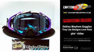 oakley goggles motocross oakley mayhem goggles troy lee designs love youtube