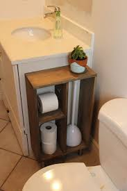 Bathroom Toilet Shelf by Home Design White Wood Bathroom Cabinet Portable Storage Over