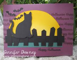 halloween love background stamping lane one spooky night