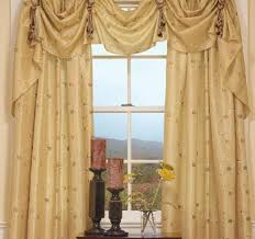 Curtain Draping Ideas Curtains Valances And Swags Pertaining To Your Own Home Csublogs Com