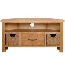 ebay tv cabinets oak astonishing sidmouth oak corner tv stand dunelm tv wood