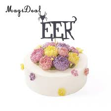 spider cake topper promotion shop for promotional spider cake