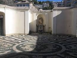il cortile genova santuario della madonnetta