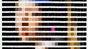 famous art recreated from pantone color chips