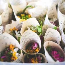 Flowers For Wedding Dried Flowers Wedding Toss Brides