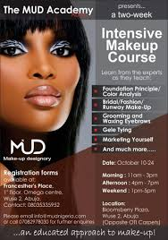 make up course the renowned mud academy arrives in abuja 2 week intensive make