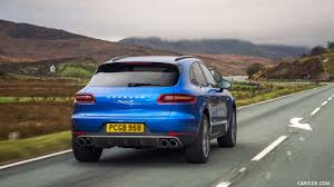 Porsche Macan S - 2017 porsche macan s diesel uk spec rear hd wallpaper 8