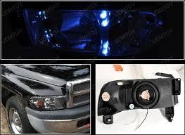 dodge ram headlight 1994 01 dodge ram black housing reflector ls