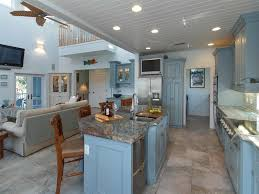 brown top white wooden chairs contemporary cottage kitchens