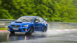 green subaru wrx why the subaru wrx sti is perfect for lapping the u0027ring in the rain