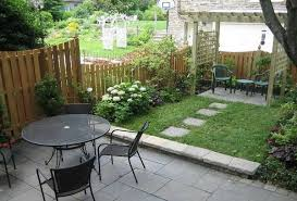 Patio Ideas For Small Gardens Small Garden Ideas With Of Outdoor Furniture And Pergola For
